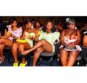Ladies Dressed In Mini Skirts Attending A Church Service South