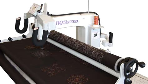 Hq Sixteen Quilting Machine hq sixteen arm quilting machine w studio frame
