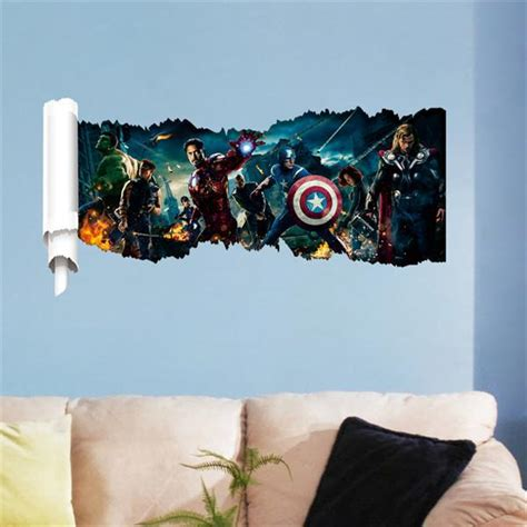 home decor websites in usa creative hot movie avenger and captain america 3d