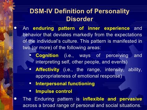 enduring pattern meaning new perspectives in borderline personality disorder