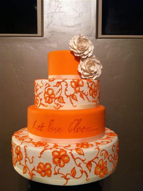 Hochzeitstorte Orange by Orange Wedding Cake Cake