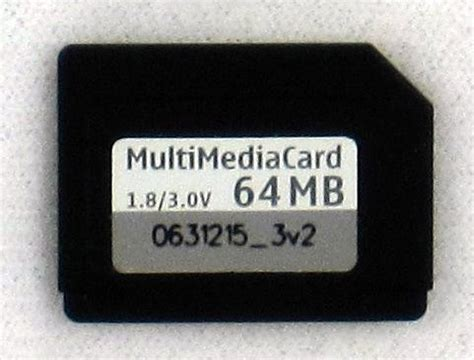 Multimedia Card reduced size multimediacard rs mmc photo zoom