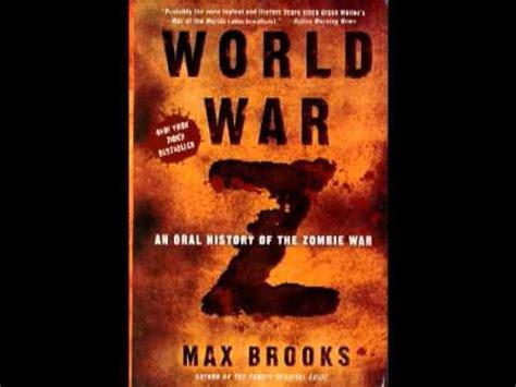 libro guerra mundial z guerra mundial z audiolibro advertencias 1 9 youtube