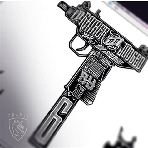 draco gun tattoo pictures to pin on pinterest tattooskid