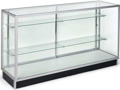 glass display shelves glass display cabinets ship unasembled for low pricing
