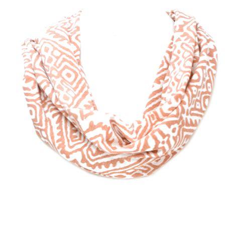 Tribal Pattern Jersey | tribal pattern jersey infinity scarf fashion jewelry