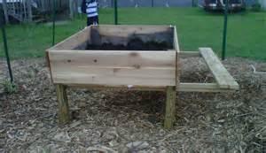 raised garden beds on legs modern diy designs
