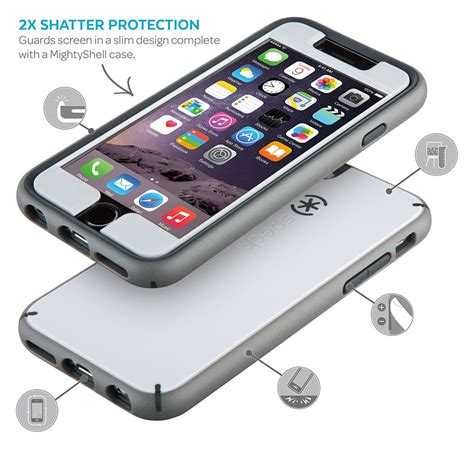 mightyshell faceplate iphone 6s plus iphone 6 plus cases