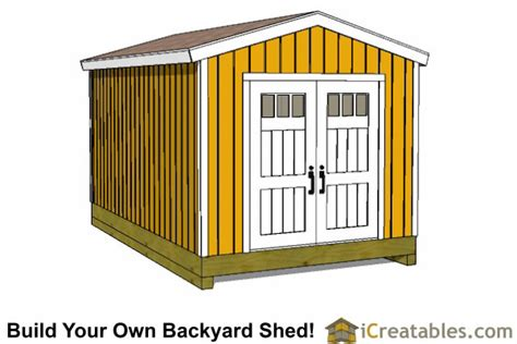 shed plans diy shed designs backyard lean