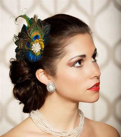 Wedding Hair Accessories With Feathers by Our Top 12 Bridal Hair Accessories On Etsy Bespoke