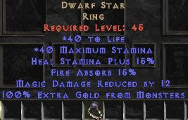 unique rings west non ladder diablo 2