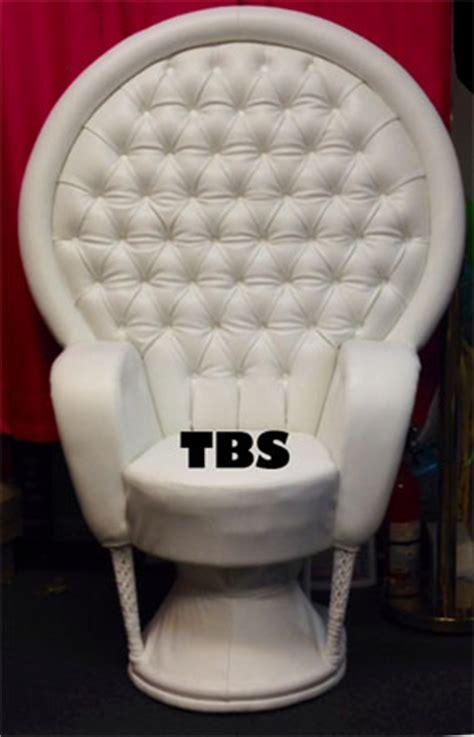 elegant victoria leather  chair  baby shower