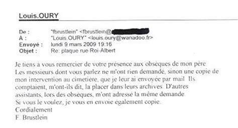 Lettre De Remerciement Obsèques Louis Oury Mon Combat D 233 Crivain