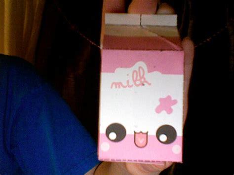 Papercraft Milk - strawberry milk papercraft by finite destiny on deviantart