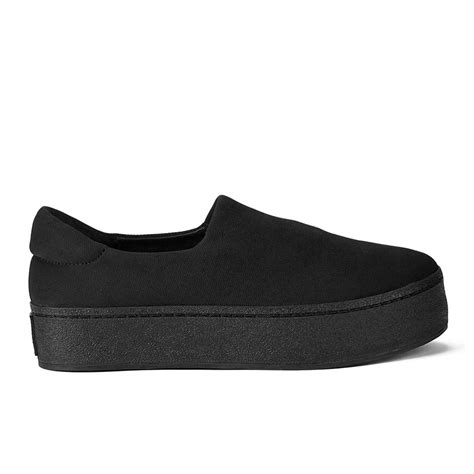 Platform Mesh Slip On Sneakers black platform sneakers for www pixshark
