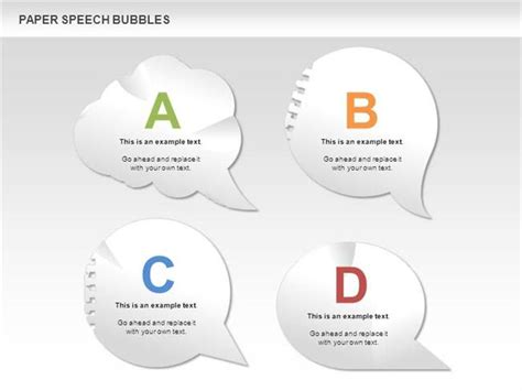 Free Paper Speech Bubbles For Powerpoint Authorstream Speech Bubbles In Powerpoint