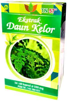kapsul daun kelor tn57 untuk kesehatan toko obat herbal