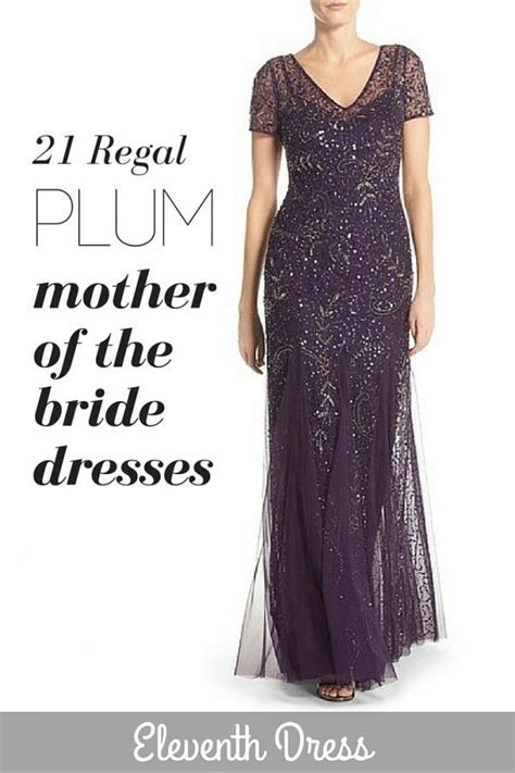 25 best Plum Mother of the Bride Dresses images on