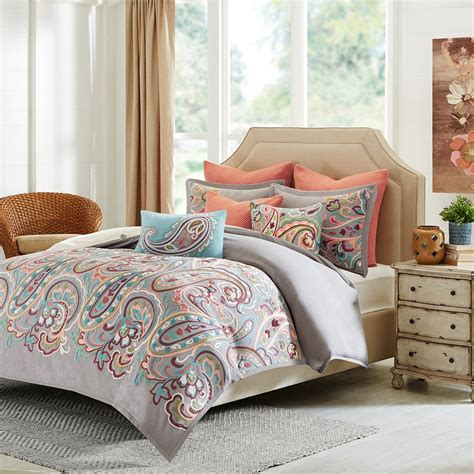 paisley bedding set hton hill persian paisley comforter set ebay