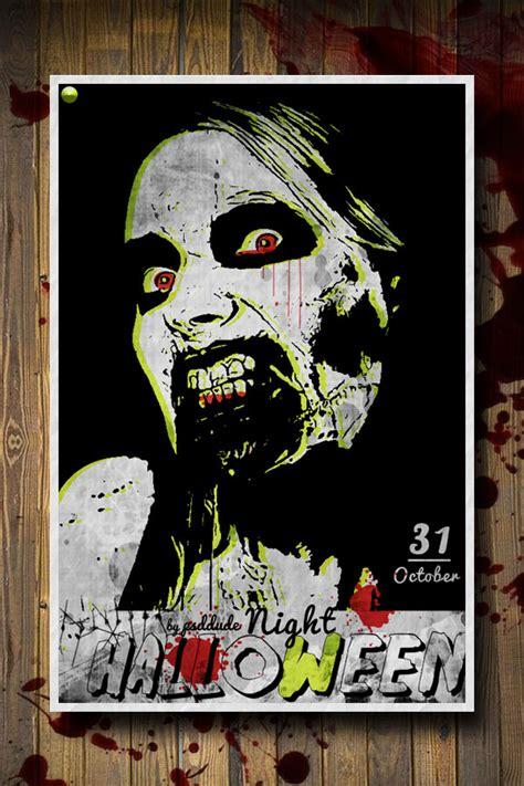 zombie tutorial using photoshop halloween flyers photoshop images