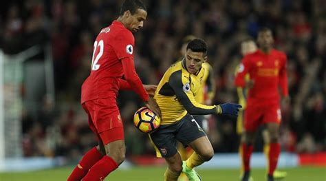 arsenal vs liverpool 2017 liverpool pip arsenal 3 1 in a thrilling encounter as it