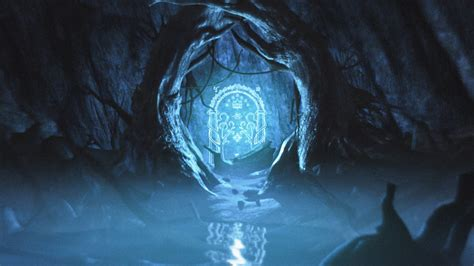 Magic Gate Of Moria Lord Of The Ring The Hobbit Tshirt mines of moria entrance www pixshark images galleries with a bite