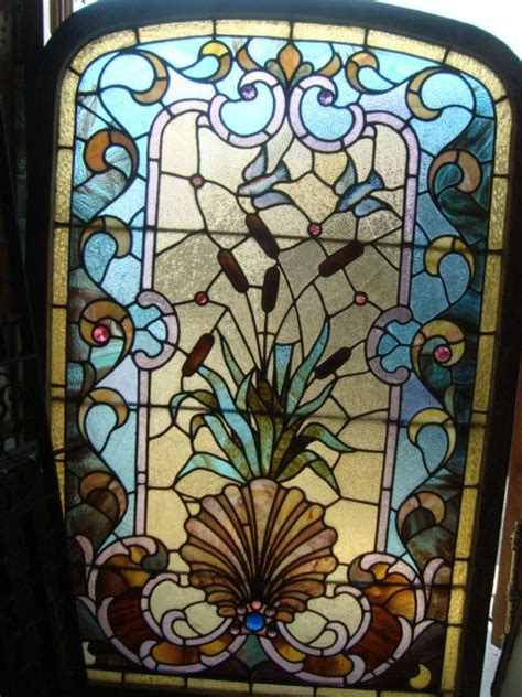 Antique Stained Glass Door Antique Stained Glass Windows Doors For Sale In