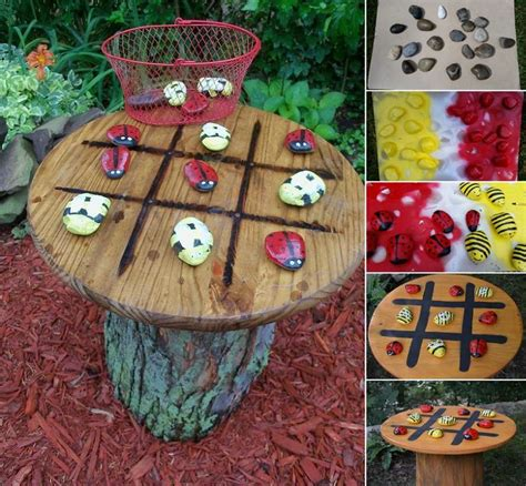 totally fun diy garden table ideas   home