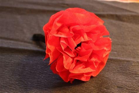 como hacer flores de papel crepe cositasconmesh como hacer flores de papel crepe imagui