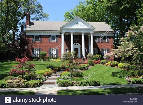 trump house fred trump house jamaica estates queens new york stock photo royalty free image