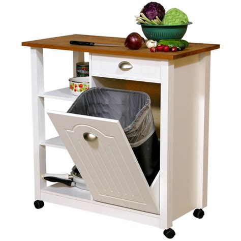 kitchen island trash bin kitchen island with trash bin chef wooden bins for with