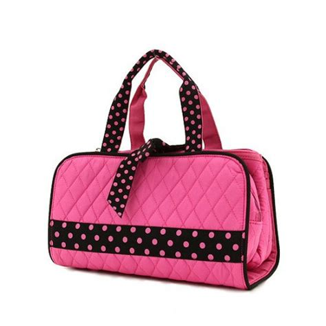 Quilted Makeup Bags by Monogrammed Quilted 3 Cosmetic Makeup Bag By