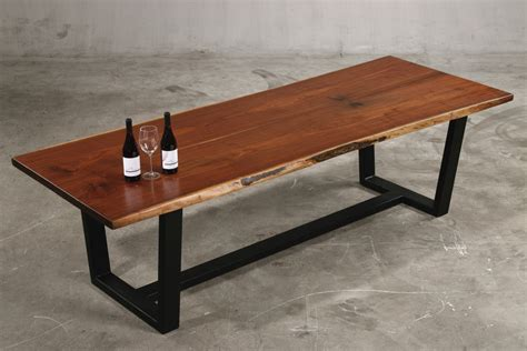 walnut dining table and bench modern walnut dining table wood fusion