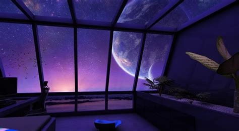 futuristic room by aurora2109green on deviantart