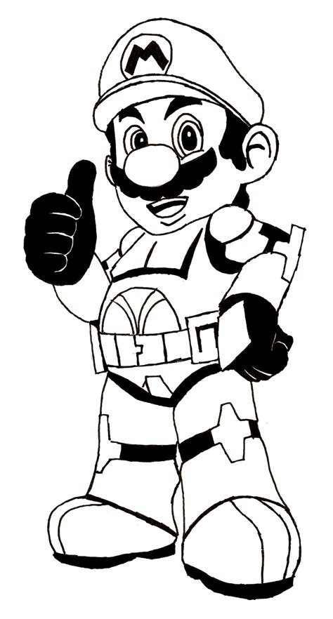coloring for mario coloring pages coloringsuite