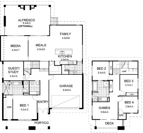 split level floor plans floor plan friday split level modern