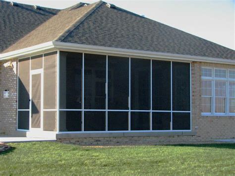 Aluminum Screen Porch Framing screened in porch options