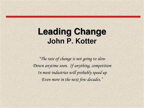 The Of Change By P Kotter Dan S Cohen Ebook E Book kotter s 8 step change model change management kotter lean six sigma