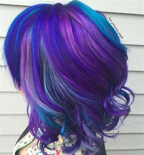 black n purple hair 25 amazing blue and purple hair looks page 2 of 3 stayglam