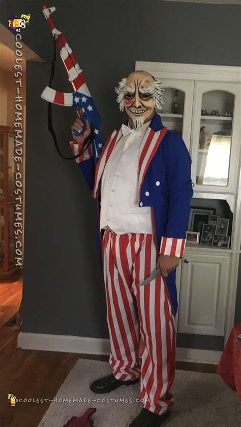 Coolest Handmade Costumes - cool the purge election year costume