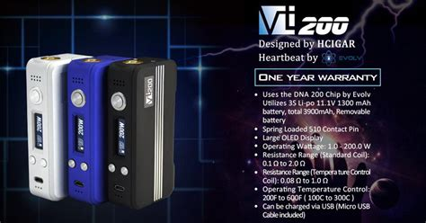Original Garskin Vapor Vt Box 200w Free Custom Gambar Union original hcigar vt200 box mod temperature 200 600f