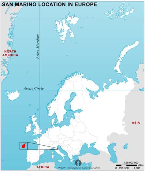 san marino on map of europe free san marino location map in europe san marino
