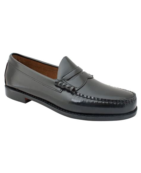 bass loafers g h bass co g h bass co larson loafers in
