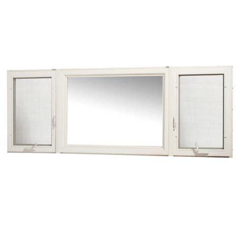 tafco windows 30 in x 60 in right vinyl casement