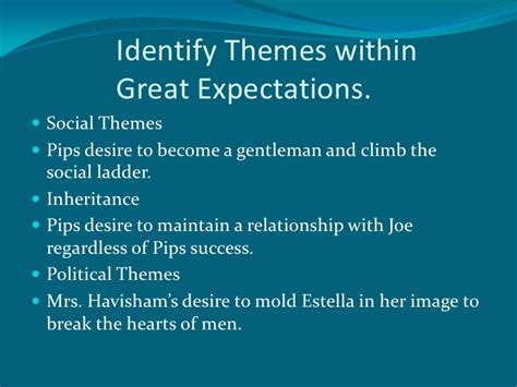 themes in great expectations dickens anderson dickens pp01