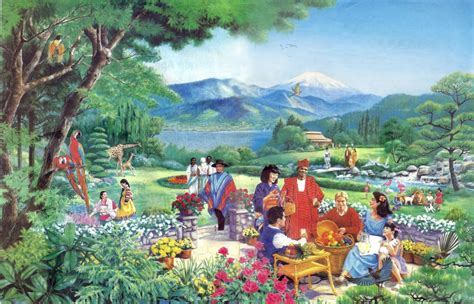 imagenes del paraiso jw org para 237 so novo mundo jw paradise mural paintings new