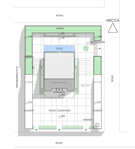 floor plan of a mosque man 231 o architects conceptual mosque
