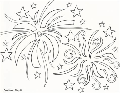 free download firework coloring pages coloring home