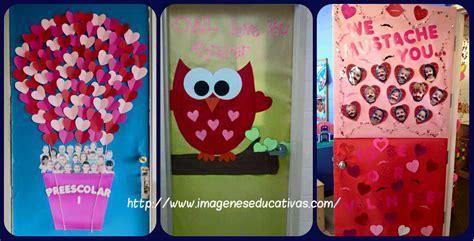 imagenes educativas san valentin colecci 243 n de puertas para decorar nuestras clases el 14
