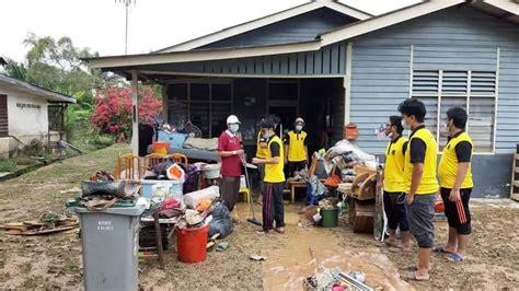 berjasa turun padang bantu mangsa banjir kilat  seremban